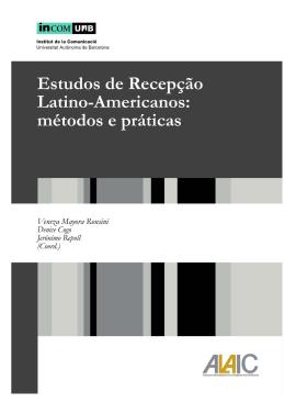 Livro Estudos de Recepção Latino Americanos