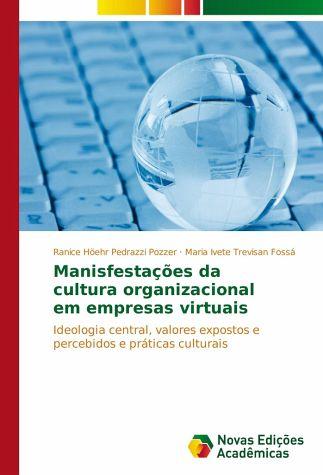 Livro Manifestações da Cultura Organizacional em Empresas Virtuais
