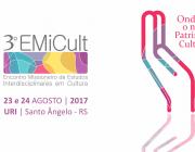 3º EMICULT está com inscrições abertas para trabalhos